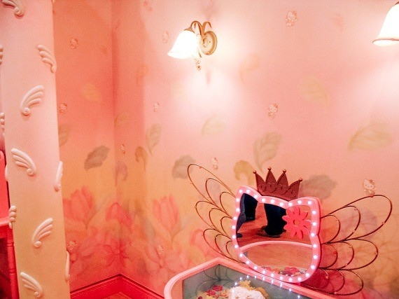 Sanrio Theme Park - Puroland - inside hello kitty's house