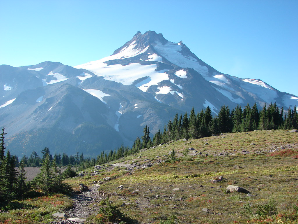 Mt. Jefferson from the Pacific Crest Trail