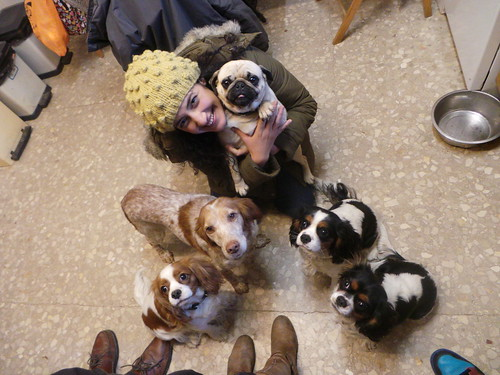 Aiki, Lili, Precious, Guapa & Tata