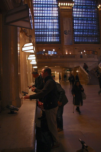 Grand Central ticket booth