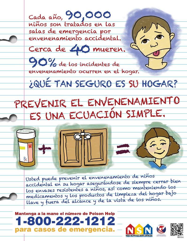 Prevenir el envenenamiento es una ecuación simple.