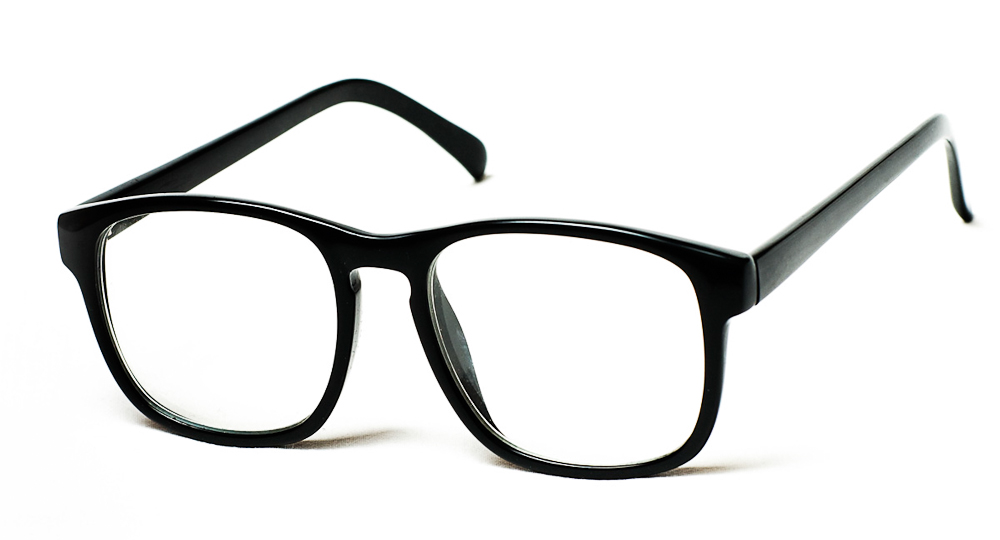 A pair of glasses.