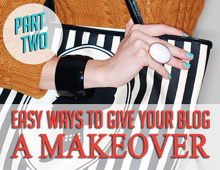 Easy Ways To Give Your Blog a Makeover (Part 2: Colour Schemes, Make Images All The Same Width)