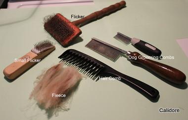 Combing equipment