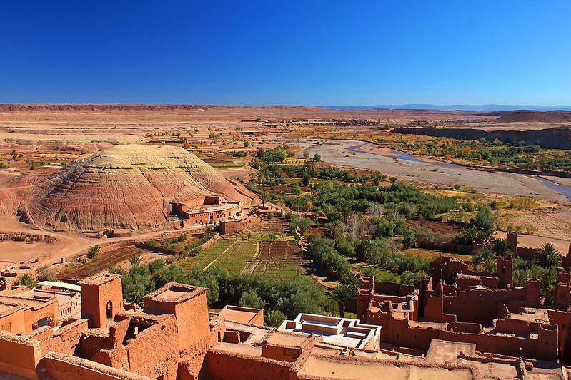 Ouarzazate e o rio