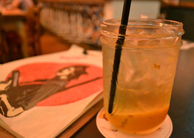 White Sangria, Bomba Paella Bar