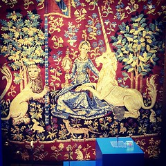 Saw some crazy tapestries too.