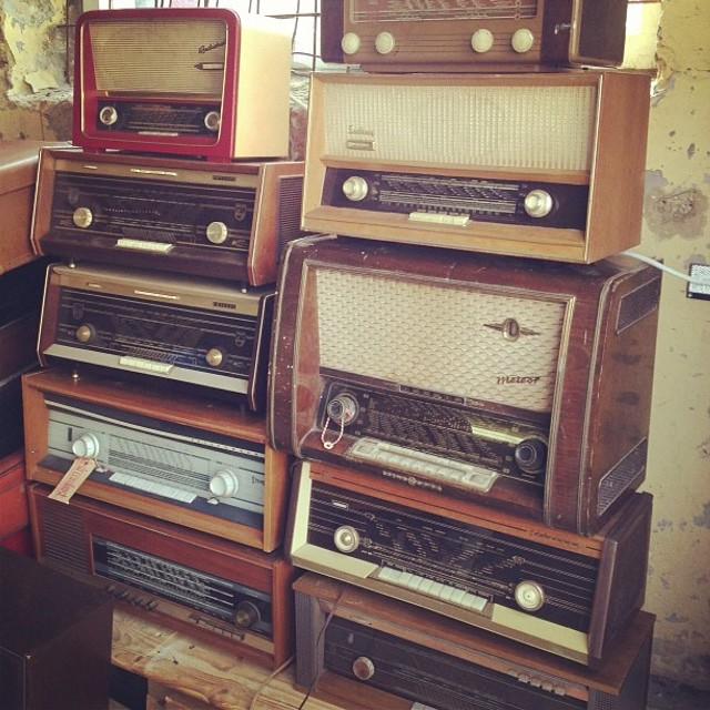Vintage radio heaven