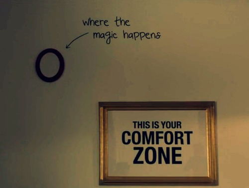 Girls' comfort zones