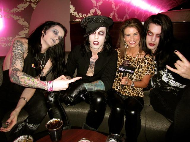 Vampires Everywhere, Lynn Maggio, Philip Kross, Aaron Graves, Michael Vampire, DJ Black, Vans Warped Tour 2012