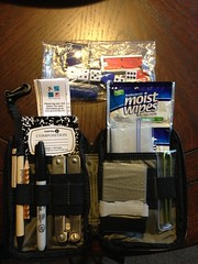 Geocaching pouch contents