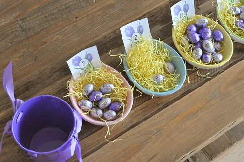 Cups Counters Easter Eggs