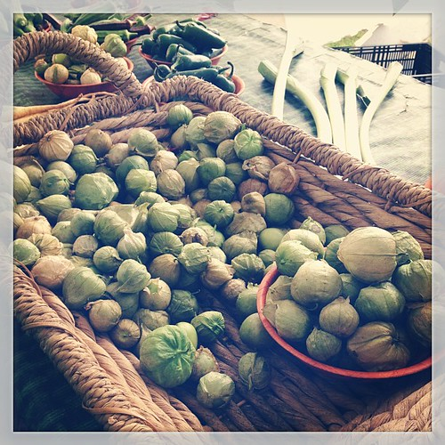 #marchfoodphotos 29 | #culture - I found tomatillos!! Mexican salsa verde will be mine