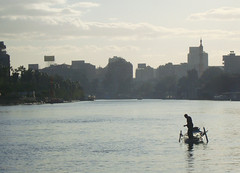 Nile fishermen say the river holds less fish, and less variety. Credit: Cam McGrath/IPS.