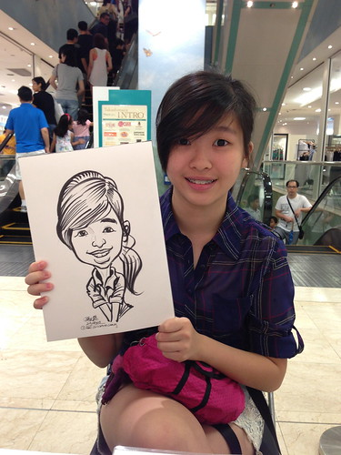 caricature live sketching for Takashimaya Good Friday Special - 14