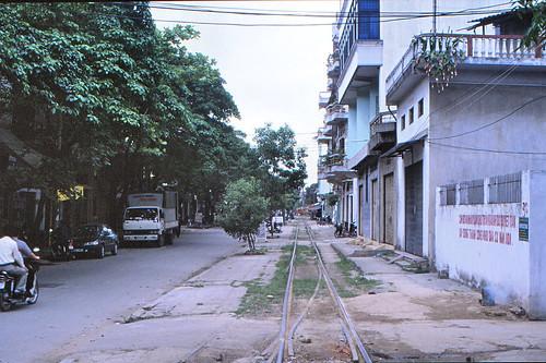 vietnam haiphong harbourtrack ðsvn metergauge infra alignment siding 2003