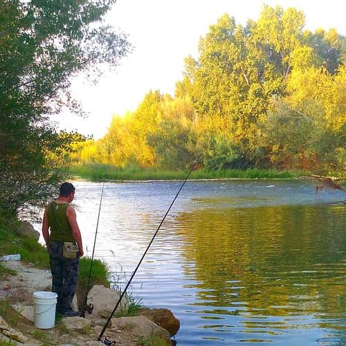Mañana de #pesca #río #riocinca #igerszgz #igersaragon