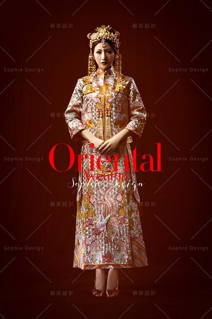 中式禮服,單租禮服,婚紗禮服