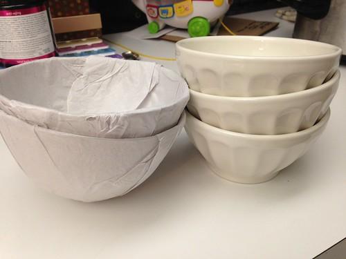 Latte bowls.