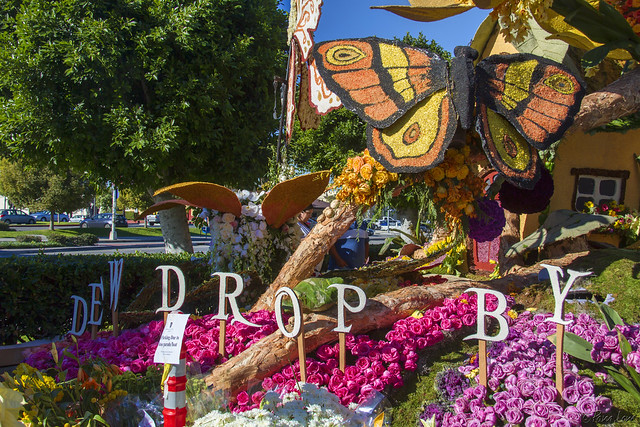Downey Rose Parade Float