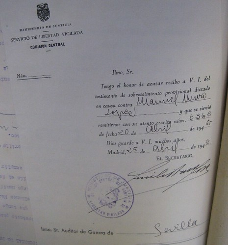 """Sobreseimiento de Manuel Muro López, """"El Cerilla Sucia"""""""