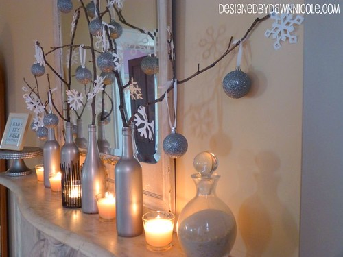 DIY Winter Mantle