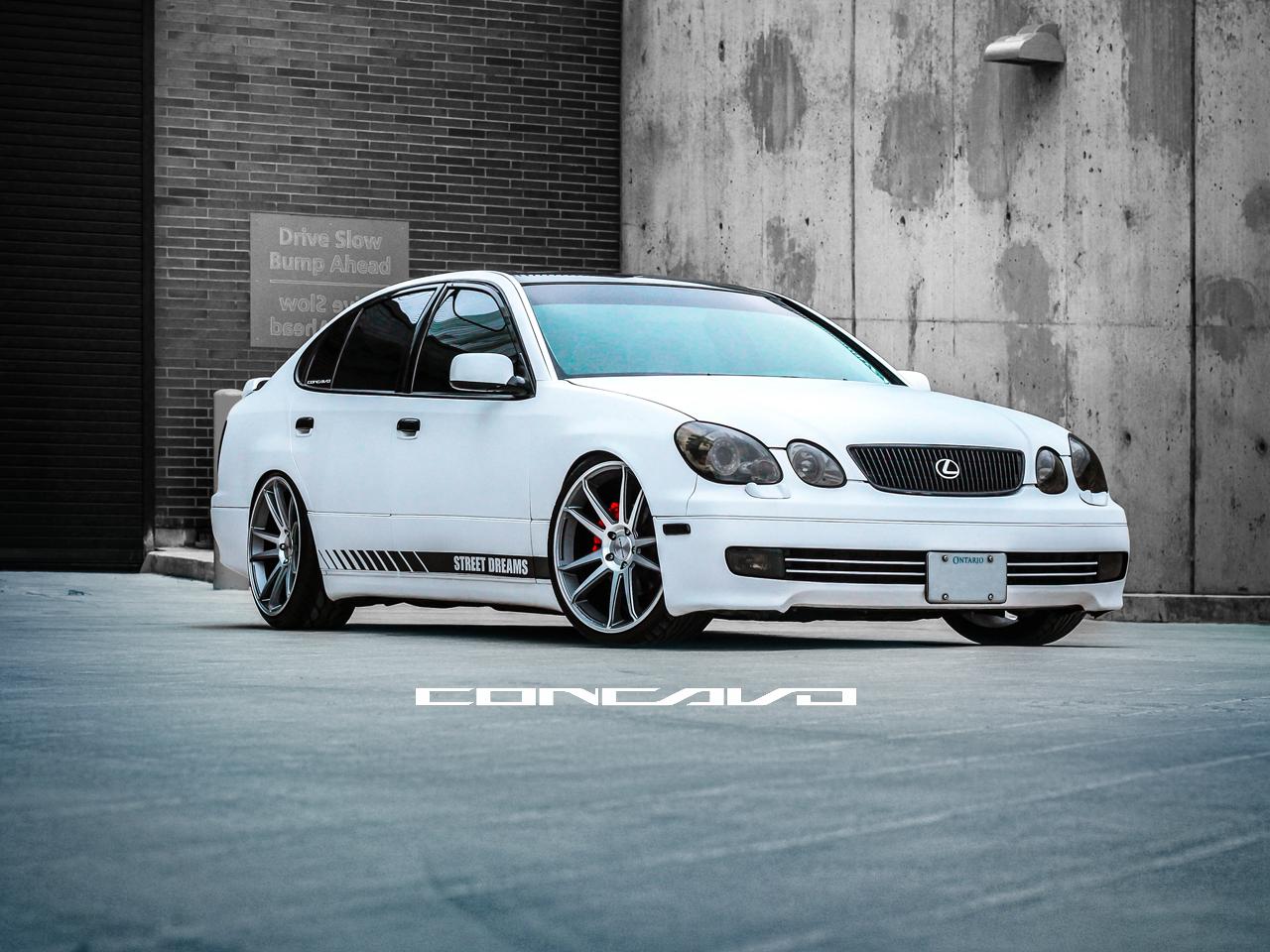 Custom Lexus Gs400 On Custom Concavo Cw S5 Sitting Clean