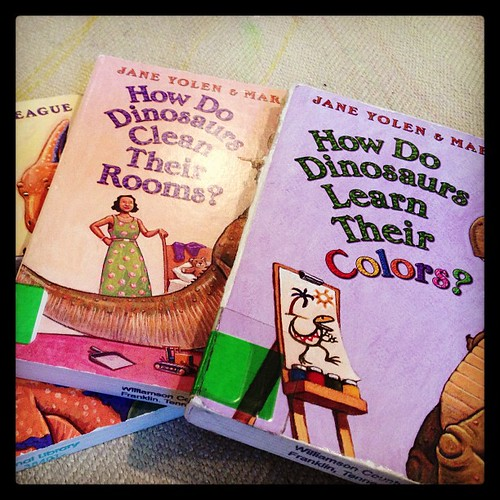 Books the boy loves.