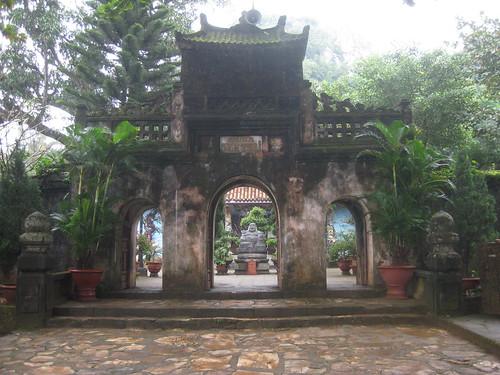 pagode montagnes marbre