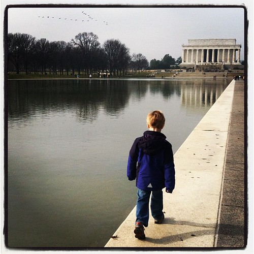 Saturday mystery ride... #lincolnmemorial, #reflectingpool,
