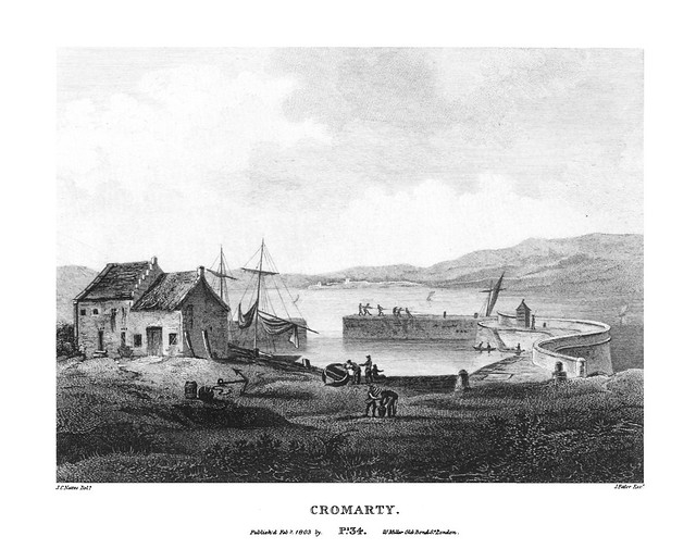 etching: Cromarty