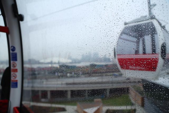 Rainy Cable Car