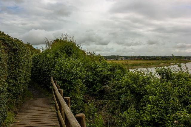 Ruta a pie por la isla de Wight