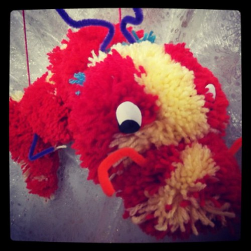 Chinese New Year Pom Pom Dragon