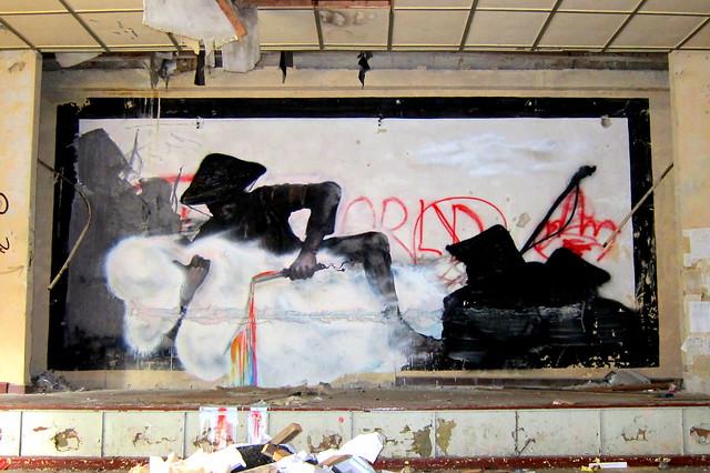 klosterfelde . artbase 2012 - graffiti