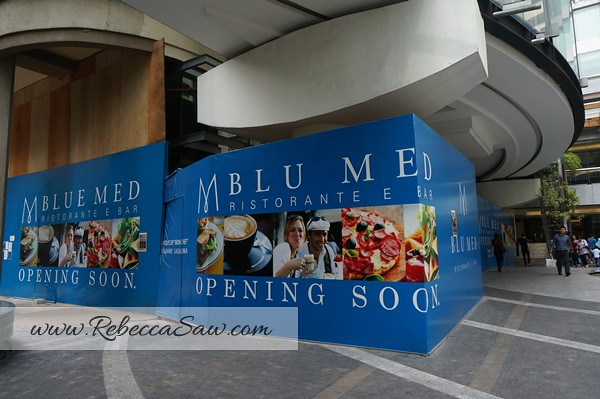 Blu Med Restaurant italian restaurant - Mid Valley