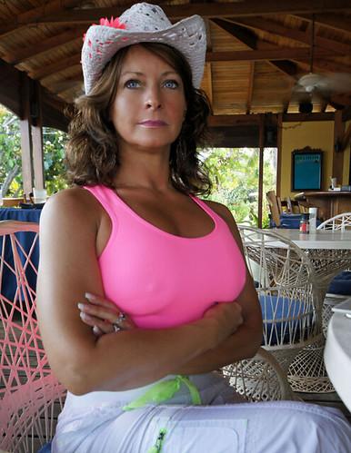Sexy wife long hair nude