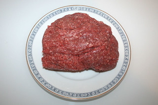04 - Zutat Rinderhack / Ingredient beef ground meat