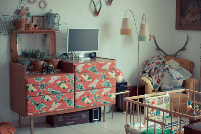 meuble vintage restauré