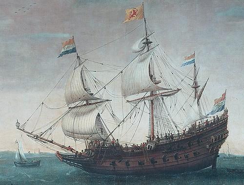 Mauritius_-_Detail_uit_Het_uitzeilen_van_een_aantal_Oost-Indievaarders_van_Hendrick_Cornelisz_Vroom_(1600)