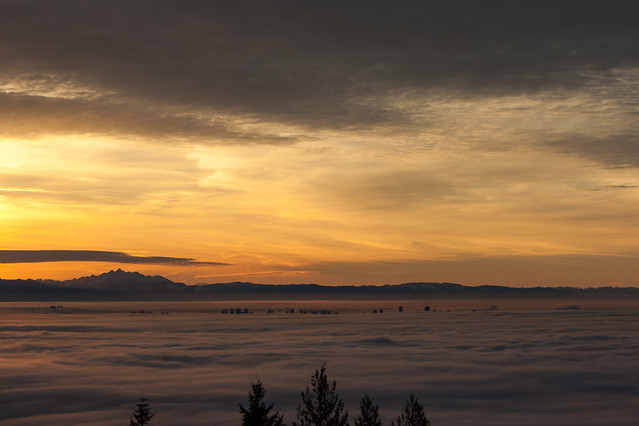 Vancouver's Fog Inversion
