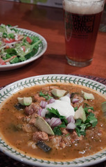 Pork and Poblano Soup