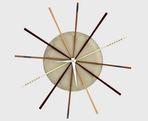 Chopstick Clock
