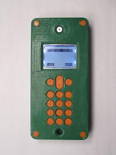 Ben Peters' Phone.