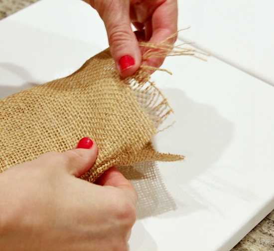 Hi Sugarplum | Valentine Burlap Treat Bags