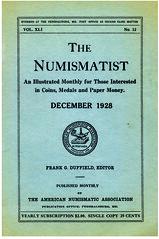 1928 numismatist