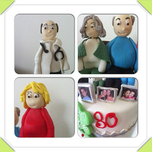 #instacollage#family#sugarart ##sugarpaste # by l'atelier de ronitte