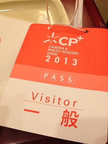 CP+ 入場パス