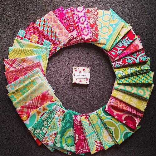 Fabric joy!