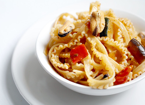 Mafalda Pasta What is Mafalda Pasta With Mussels by